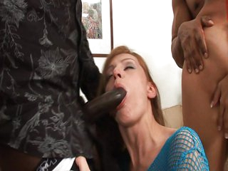 2 lush girls destroyed by two black rods