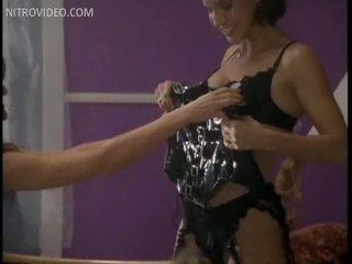 Hot Lesbian Action With Breasty Caroline Ambrose & Jennifer Hammon