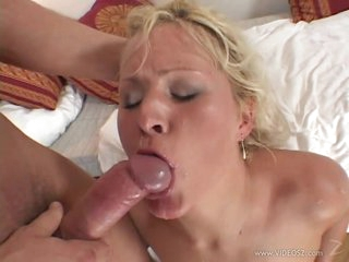 Busty Blonde MILF Kathy Anderson Gets Ass Screwed and Facialized