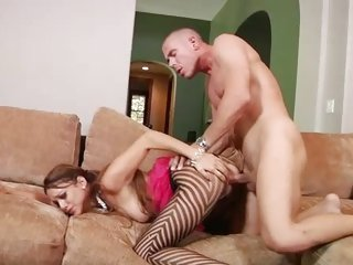Doggy style lover Melanie Jane taking it deep and hard