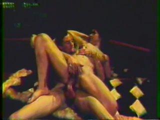 John Holmes Fucks Sally Peeper's Hairy Twat - Vintage Porn
