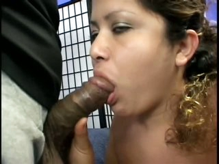 Dark Meat For Chubby Pregnant Latin babe
