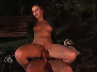 Horny bitch Kelly Kline rides this dick up her slit