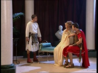 Rita Faltoyano Gets Double Penetrated In An Ancient Rome Threesome
