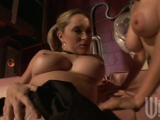 Sexy lesbian Milfs Play With Each Other's soaked Twats