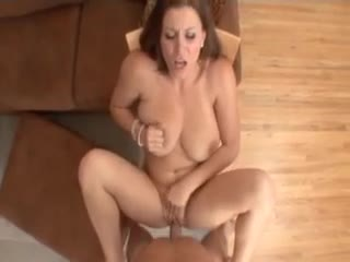Curvy nice-looking girl titjob and POV sex