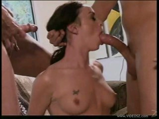 Raunchy Ariana Jollee gets her mouth crammed with cock