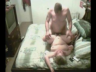 Horny Couple Caught Having Sex On Camera