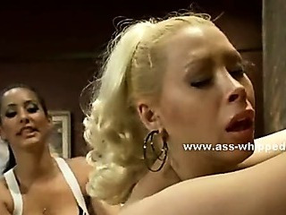Lesbian sluts with huge breasts fucking in extreme lezdom sex spanking and fucking with strapon