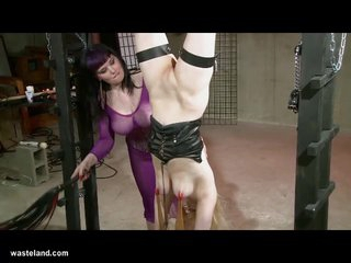 Wasteland Original BDSM: Black and Blue Bondage Beating