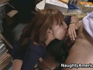 a lucky cock is getting sucked by Ava Devine as that babe always loved