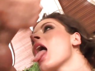 Luscious Lucie Lee gets saturated with hot cum