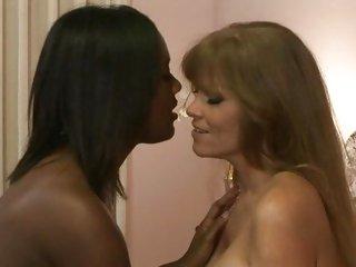 Interracial lesbianism with Darla Crane and friend