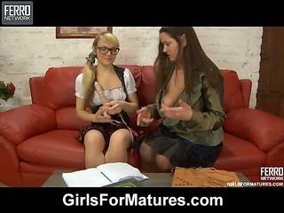 Emilia&Connie lesbian mature movie