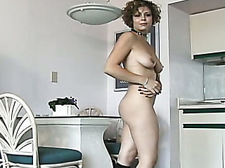Rick squeezes the cutie's meatballs and lightly spanks her booty