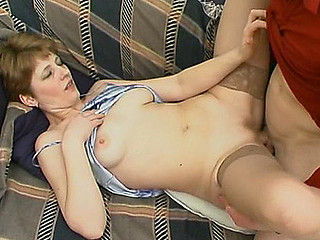 Sexy mamma and younger guy know the superlatively good way of rest-time playing numbers game