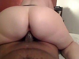 Wanna see a horny mature chick with a huge butt ride a meaty black cock, making the guy come twice? Then this awesome home made porn video is just what you need!