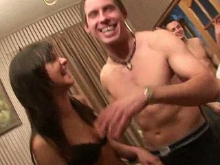 One sexy chick is cool, but when you've got a whole bunch of them, that's a party. Greatly shaped sluts with huge natural boobs, we had to talk them into an orgy and we got it! Fucking altogether in my apartment, blow jobs followed skull jobs, pussy fucks followed anal sex, wanna see us having fun?