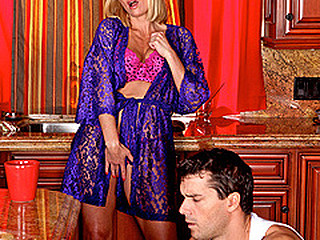 `Brenda is in a pickle. This Babe thinks that her sons superlatively good ally is one impressive mother fucker, but that babe can't appear to be to get his attention. Brenda comes to a conclusion to `break` a pair things around the abode so Ramon will have to aid her out. It's not the cabinets that need fixing however, it's Brenda's insatiable need for pecker.`