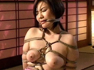 Here is a pang and humiliation movie  complete Japanes servitude experience. This cutie is completely wrapped with a rope and taken advantage of during the time that that babe is immobilized. Watch her go throughout some raunchy humiliate and coarse sex.