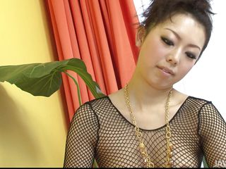 Yuki Asami wraps her cute milf feet around your throbbing cock. She rubs her toes on your full balls to get your dick harder. She rubs her soles on your shaft. She moves her hands up and down your cock and wraps her lips around the tip.