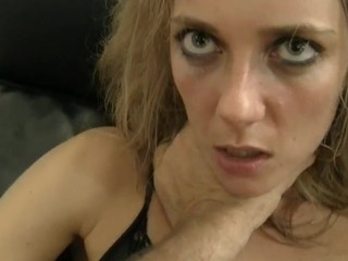 Sexy Natasha Is Teasing Rocco With A Huge Toy In Her Earthy Cleft!