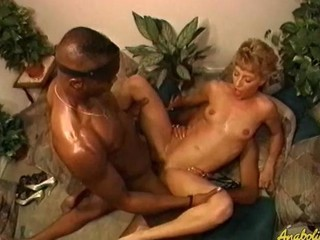 White hotty gets DP'd by two sombre guys