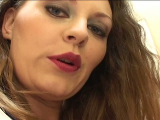 Brunette hair valley whore sucks, licks ass, and gets fucked