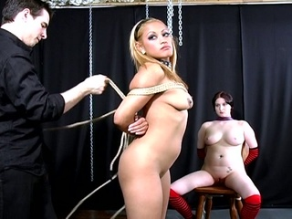Sweet slutty whore takes on sweet pussy in some s&m
