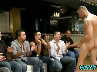 Professional stripper goes wild