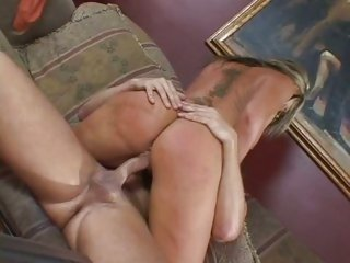 Seductive Flower Tucci rides her pussy on a big dick