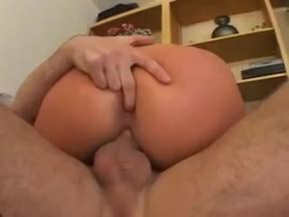 See the milf with curves welcome him anally