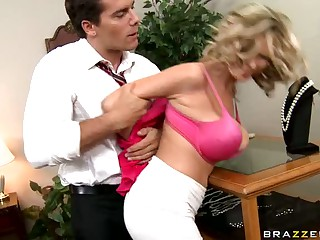 Breasty Blonde Slut Katie Kox Can't live without Dominance Games and Rough Sex