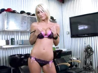 Super hot bra and panty set striptease